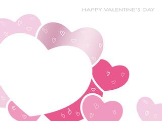 バレンタインデー メッセージカード