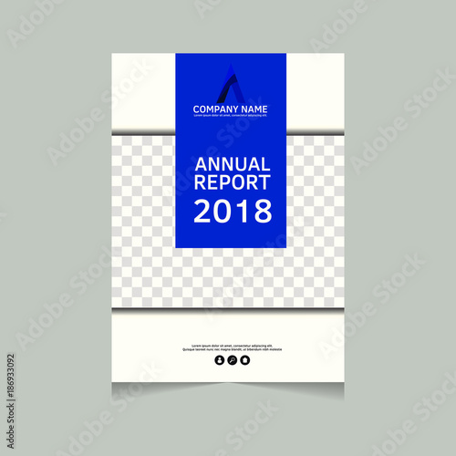 Annual Report Flyer Presentation Brochure Front Page Book Cover