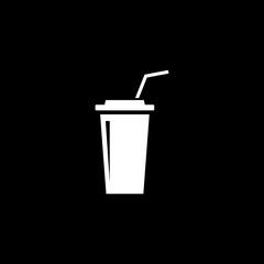 Plastic cups of coffee, tea