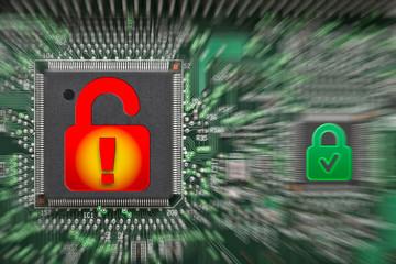 Computer Daten Sicherheit