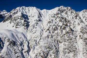 Wołoszyn, widok z Doliny Roztoki