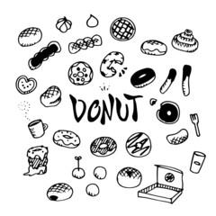 Donut Illustration Pack