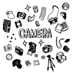 Camera Illustration Pack