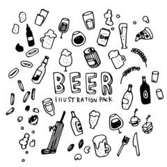 Beer Illustration Pack