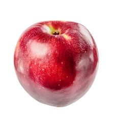 beautiful ripe juicy Apple on a white background