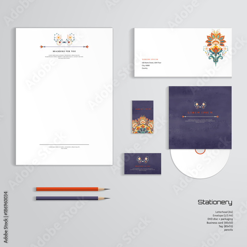 Vector identity templates letterhead envelope business card tag vector identity templates letterhead envelope business card tag disc with packaging accmission Choice Image
