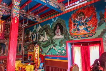 Buddhist temple, Nepal, Annapurna