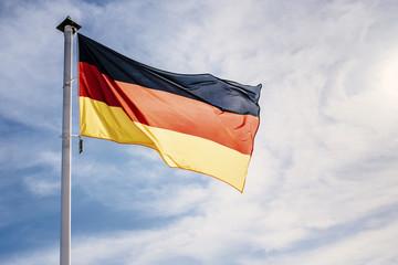 German flag Wall mural