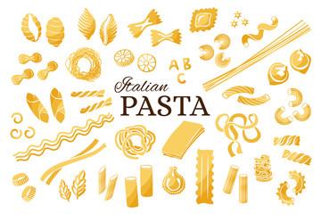Italian pasta collection.