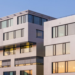 Germany, Leinfelden-Echterdingen, view to modern office buildings