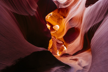 USA, Arizona, Page, Lower Antelope Canyon