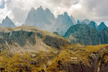 Wall Mural - Scenic Dolomites Mountains