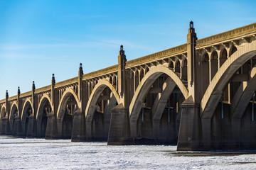 Frozen Susquehanna River at Columbia