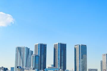 晴海の都市風景