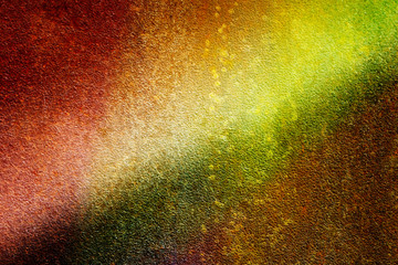 grunge metal Colorful background. Rusty multicolored  background .