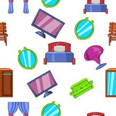 Type of furniture pattern, cartoon style