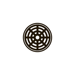 sewer icon. sign design
