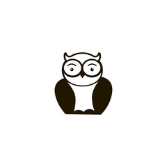 owl icon. sign design