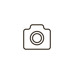 camera icon. sign design