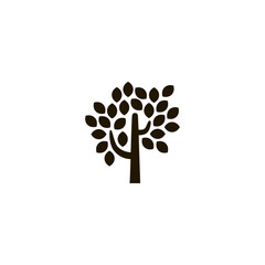 tree icon. sign design