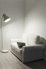 Part of a modern living room