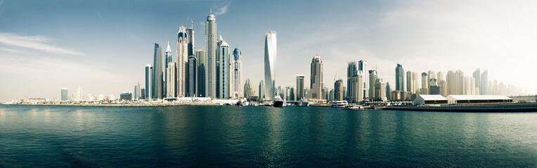 Foto op Aluminium Dubai Dubai Marina Panorama