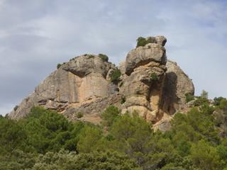 Los Goldines, pueblo abandonado  cercano a Hornos de Segura, localidad de Jaén, Andalucía (España) perteneciente a la Comarca de Segura