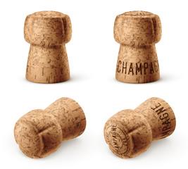 Bouchon de champagne vectoriel 5