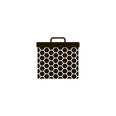 honey bag icon. sign design