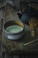 A cup of tea matcha