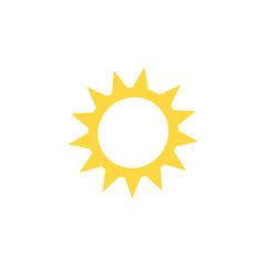 sun icon. sign design