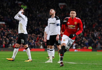 FA Cup Third Round - Manchester United vs Derby County