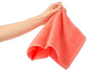 Towel hand wipe
