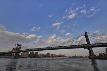 ニューヨークのマンハッタン・ブリッジ