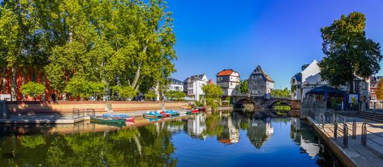 Bad Kreuznach, Brückenhäuser Fototapete