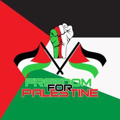 free palestine vector logo