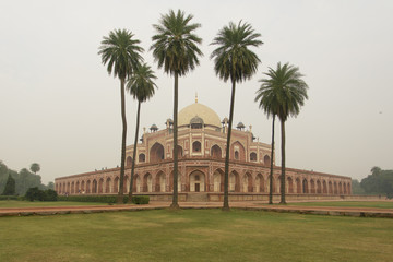 Humayun garden tomb in Delhi India