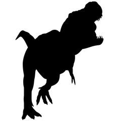 Tyrannosaurus Silhouette Vector Graphics