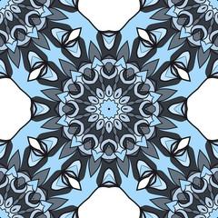 mandala ornament. seamless pattern. Abstract Geometric Background Design. for design, wallpaper, invitation, fabric, decor
