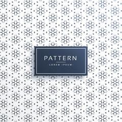 elegant line flower pattern background design