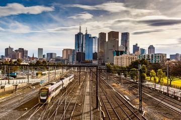 Melbourne train 2