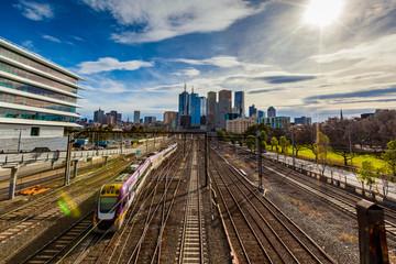 Melbourne train 1