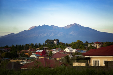 Mount Apo from Cabantian, Davao City, Philippines