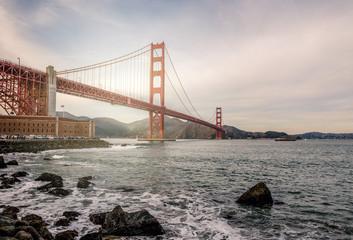 beau ciel sur San Francisco