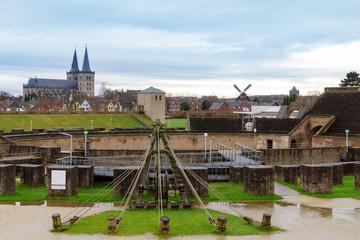 amphitheater, landmark of Xanten Germany