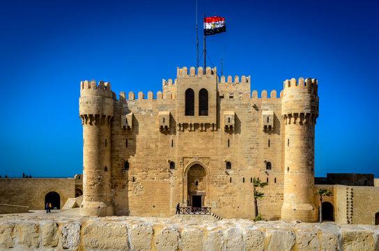 The Citadel of Qaitbay In Alexandria, Egypt