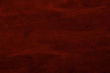 red Venetian decorative plaster