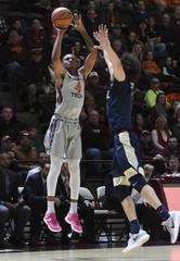 NCAA Basketball: Pittsburgh at Virginia Tech