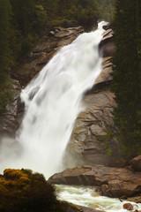 Waterfall nearby Krimml, Austria