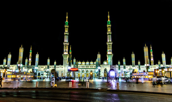 Madinah, Prophet Mohammed Masjid, Saudi Arabia.